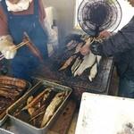魚増鮮魚店 - 凄い手際