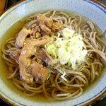 冷たい肉蕎麦専門店かほく - 肉そば(冷)