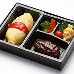 グリルれんが亭 - 料理写真:オムライスとデミグラスハンバーグのセット 650円