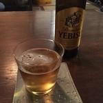カナカナ - ビール エビス小瓶
