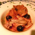 バール タッチョモ - ウサギ肉のカチャトーラ¥500