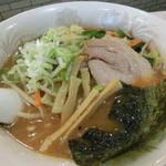 麺処 梅花皮亭 - 野菜ラーメン(イタメ)860円