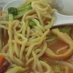 麺処 梅花皮亭 - 野菜ラーメン、アップ