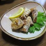 魚好亭 - 鰹の腹皮炙り焼き1