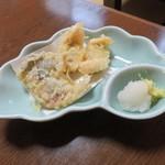 魚好亭 - 鯵の天ぷら