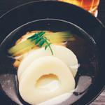 50414784 - 湯葉真薯の椀物