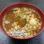 三笠 - お味噌汁