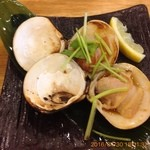 魚輝水産 - 焼き蛤