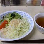 キッチン岡田 - サラダとスープ