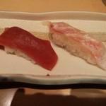 すし田 乾山 - 赤身・鯛