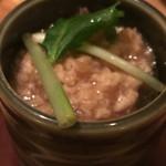 ROBATA 二代目 心 - ワカメの茶碗蒸し 鶏そぼろあん