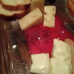 パッパーレナポリ - チーズ盛り合わせ
