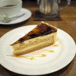 自家焙煎 珈琲屋 ドリーム - プリンのケーキ