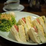 自家焙煎 珈琲屋 ドリーム - ミックスサンドイッチ