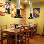 レストラン パサルガダエ バビル - 要予約焼き肉用エリア(と予測)