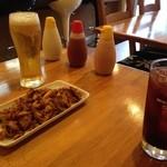 レストラン パサルガダエ バビル - Pasaセットとケバブ用ドレッシング&ビール&ざくろジュース