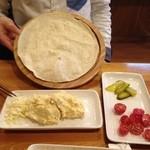 レストラン パサルガダエ バビル - 別バージョンサラダ(イラン風)
