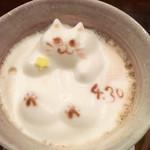 50420462 - 3D猫ARTドリンク 2016.4