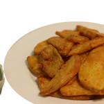 クリスナキッチン 本格インド・ネパール料理店 - スパイシーポテト
