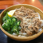 麺処 綿谷 - 豚肉ぶっかけ(*´д`*)