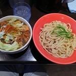 G麺屋 - マッチョつけ麺:大盛り