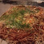 カンラン - おそばのお好み焼き