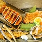 宴ん屋 一代 - これはいろんな味わいが楽しめる。魚好きにはたまりませんね。