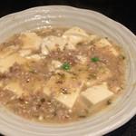 50428941 - 高菜の挽肉豆腐
