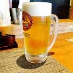 Chamidori - とりあえずの生ビールでしょ!!