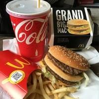 マクドナルド-グランドビッグマック+グランドセット
