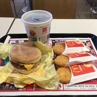 マクドナルド-朝マック  ソーセージエッグマフィンセット+ハッシュポテト