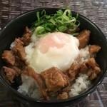 しおじん - 温玉チャーシュー丼
