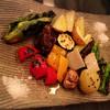 シャルボン・デ・ボア - 料理写真:炭焼きの野菜の盛り合わせ