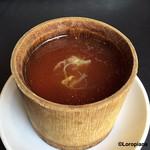 中国四川料理石林 - フカヒレ入り竹筒蒸し
