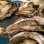 牡蠣とシャンパン 牡蠣ベロ - 焼き牡蠣