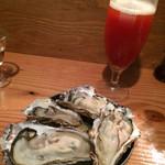 牡蠣とシャンパン 牡蠣ベロ - 生牡蠣&レッドアイ