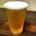 イカリ - 生ビール  小