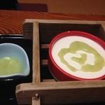 いちえ - 自家製の豆腐とずんだのタレ