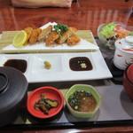 川喜 - 料理写真:2016.4.29 ひれかつ膳