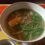 スプリングノート - 春とんぼ麺の麺アップ