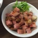 麺~leads~なかの - 炙りチャーシューめし(350円)