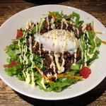 Taimupisukafe - あまから肉味噌丼-とろとろ温卵のせ-(税別\1,050)