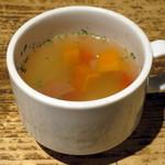 Taimupisukafe - スープ(ランチメニューのセット)