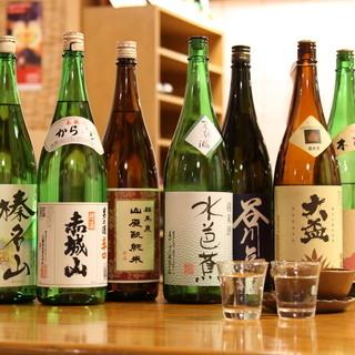 豊富な地酒と限界価格の生ビール