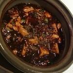 中国レストラン 胡蝶花 - 四川風麻婆豆腐~土鍋煮込み