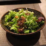 神楽坂 鉄板焼 中むら - 新鮮野菜サラダ