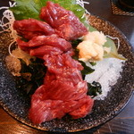 芋蔵 - 馬刺し(熊本県産赤身)