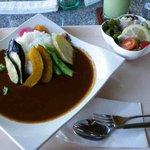 open cafe 遠見茶屋 - 野菜カレーです。