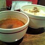 麺肴 ひづき - 担々つけ麺 830円
