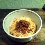 麺肴 ひづき - 汁なし担々麺(土日祝日限定) 650円